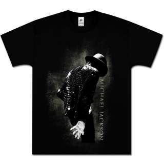 MICHAEL JACKSON BLACK SMOKE KING OF POP NEW T SHIRT L