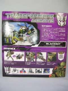 Brand New Transformers Animated TA20 Blackout TAKARA TOMY TA 20 Japan