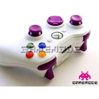 Xbox 360 Controller Purple Thumbsticks + MOD KIT