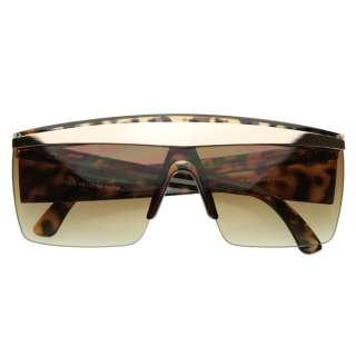 Poker Face Celebrity Music Video Half Frame Designer Style Sunglasses