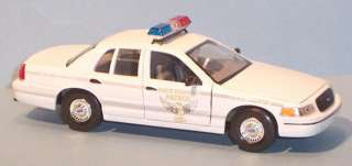 New White Ohio State Highway Patrol Car Welly Diecast