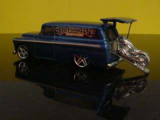 Hot Wheels CHOPPERS 55 Chevy Panel Delivey w/Cycle 1/64 Scale Ltd Edit